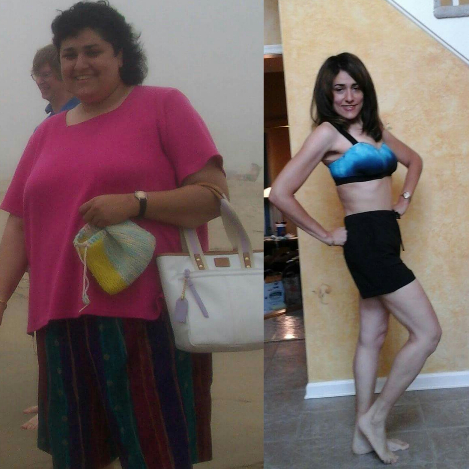 lori before and after exercise