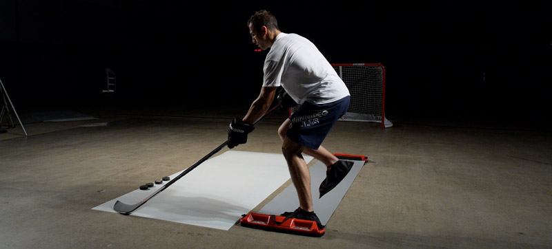 Hockey Slide Board Training